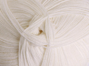 Ashford Mackenzie 4ply Merino 100gm - Optical White
