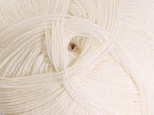 Ashford Mackenzie 4ply Merino 100gm - Natural White