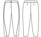 Twist Pants - Papercut Patterns