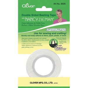Nancy Ziemer double sided sticky Basting Tape - Clover