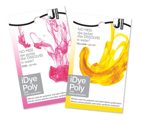 iDye POLY Dye - for Polyester and man-made materials