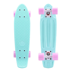 Skateboard Four Wheel Plastic Small Fish Board