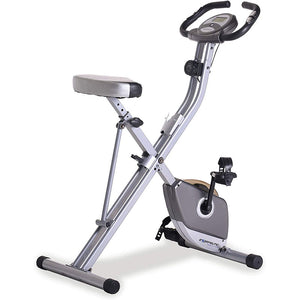 Exerpeutic Folding Magnetic Upright Exercise Bike | CredVita
