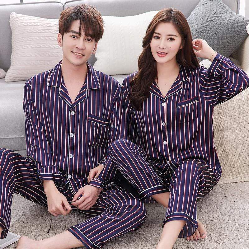 Boyfriend Girlfriend Matching Christmas Pjs | Couple Matching