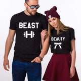 His Beauty Her Beast Shirts | Couple Matching