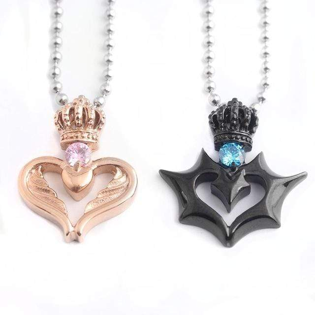 Heart Necklace For Him And Her | Couple Matching
