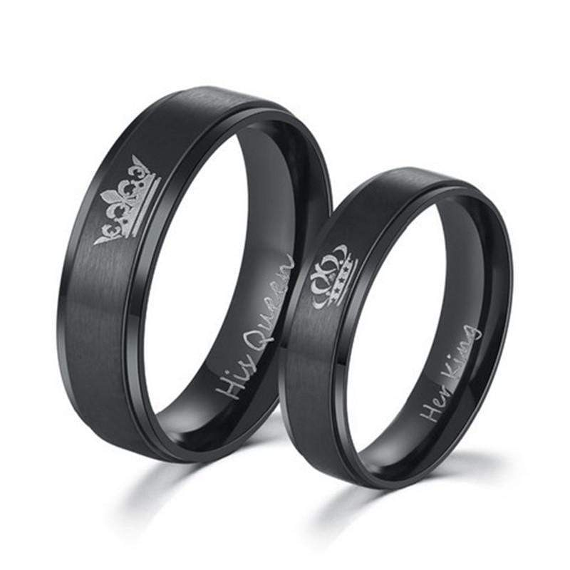 Rings His Queen Her King | Couple Matching