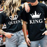 Black King And Queen Shirts | Couple Matching