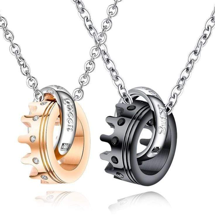 Promise Necklace For Him And Her | Couple Matching