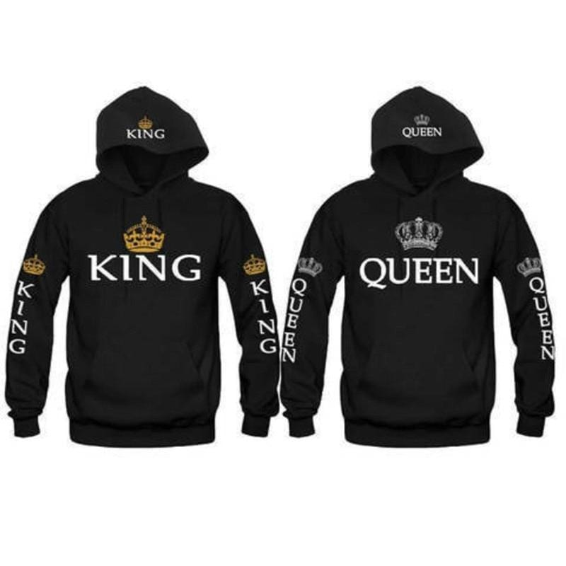 King Queen Sweaters | Couple Matching