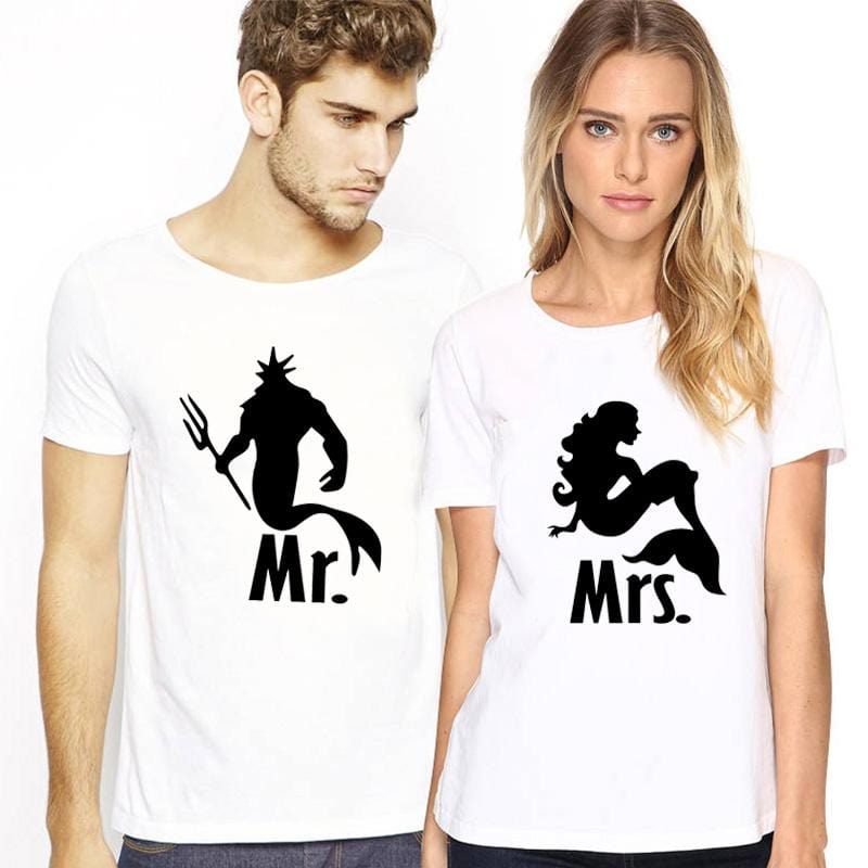 Mr And Mrs Tshirt | Couple Matching