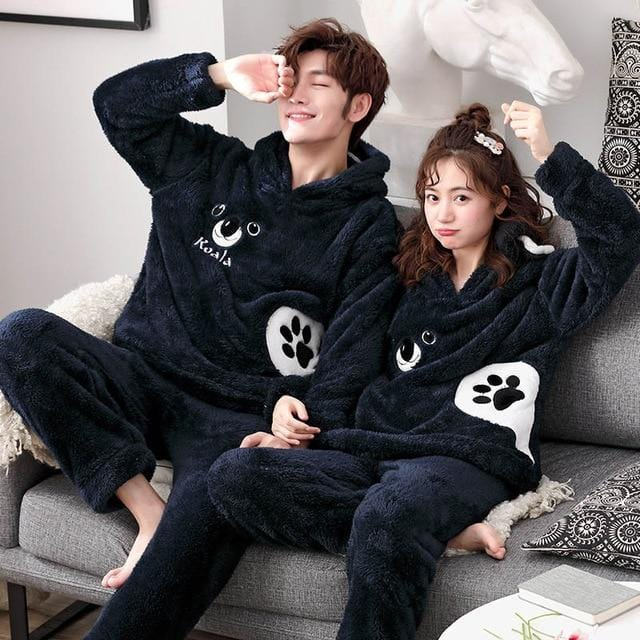 Couples Onesies Christmas Couple Matching