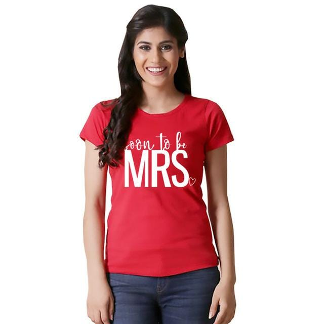Mr and mrs shirts Soon to be married