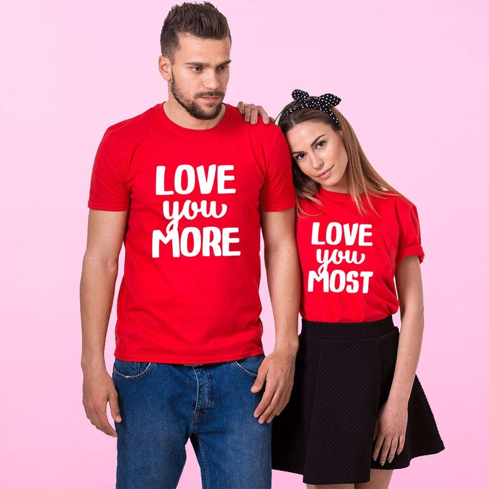 T Shirt For Couple Love | Couple Matching