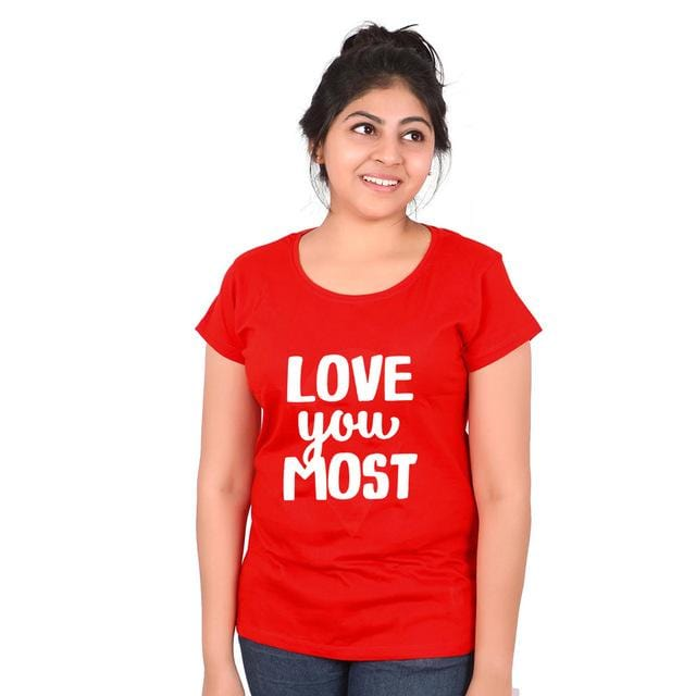 Couples Shirts I love you more