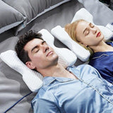 Anti pressure memory foam couple pillow