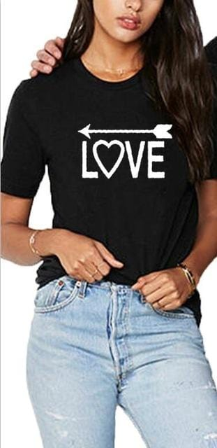 Matching couple t-shirt <br/> One love
