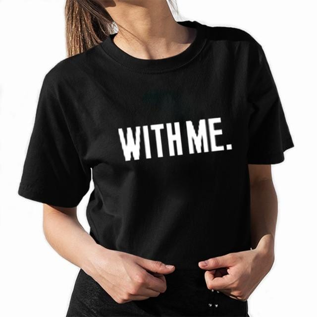 Couple t-shirt <br/> Together with me