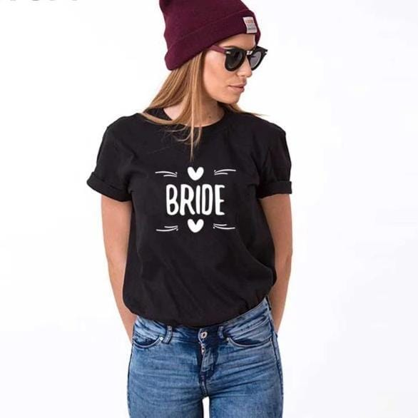 Funny shirts bride and groom