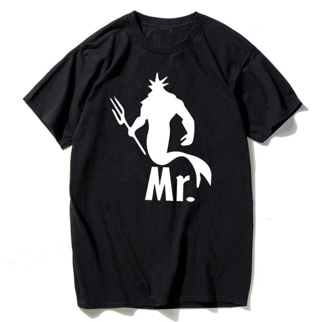 Couple t-shirt <br/> Mermaid mrs and mr