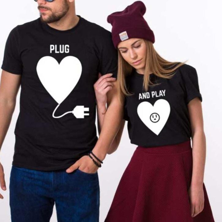 Funny Couple Tees | Couple Matching