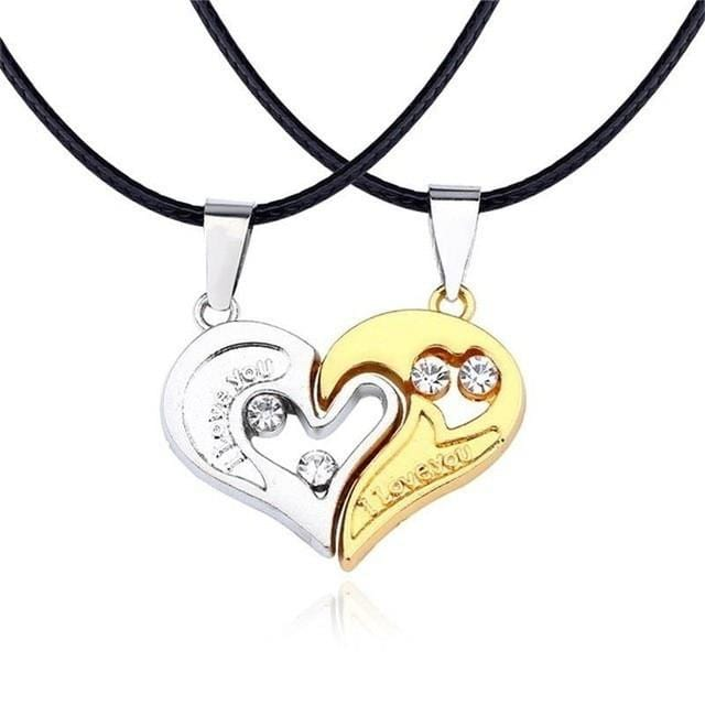 Couple Charms For Necklaces | Couple Matching