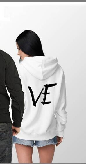 Couple hoodies Love