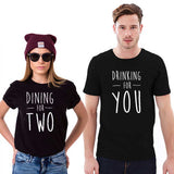 Couples Drinking Shirts | Couple Matching