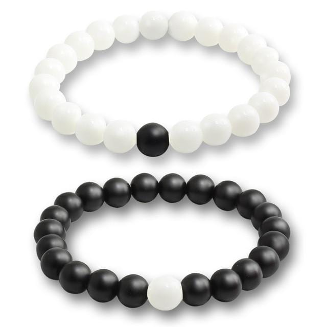 Natural stone matching bracelets for men and women