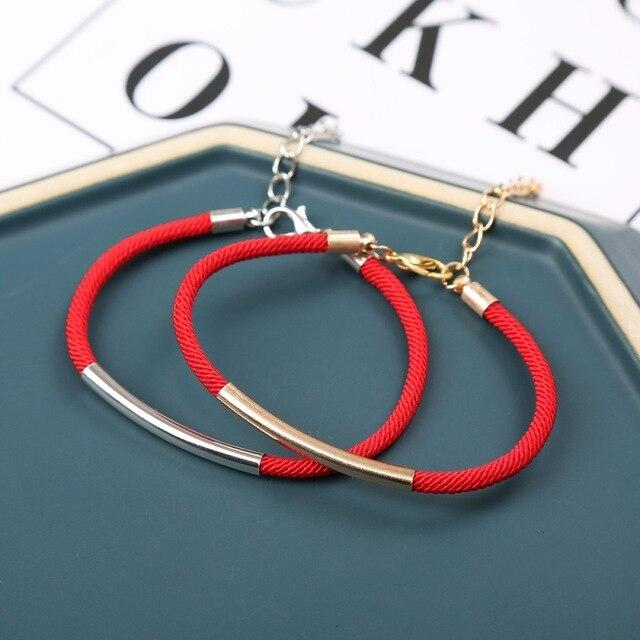 Metal couple bracelets
