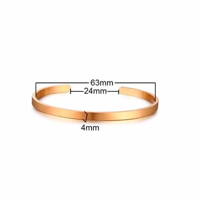 Relationship bangles for her and him