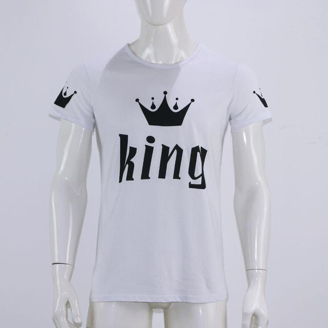 Matching shirts Black and white crown