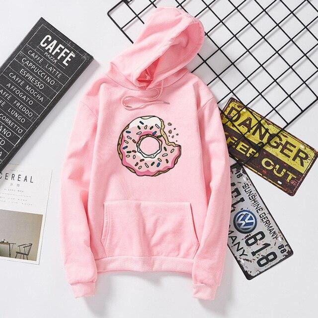 Cute matching hoodies Donuts
