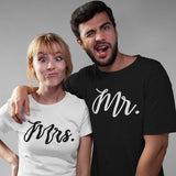 Mr & Mrs T Shirts | Couple Matching