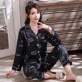 Christmas couple pajamas Heart design