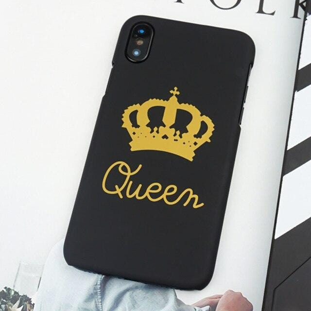 Couple iphone case King and Queen