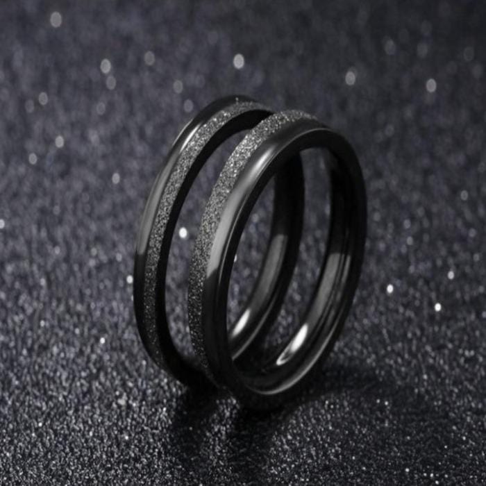 Matching Black Rings For Couples | Couple Matching