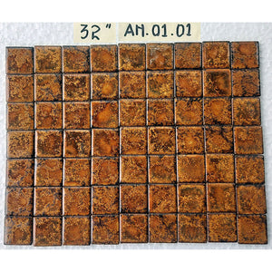 "Deposit - Custom Sorted Tiles for a 32"" Big Bad - Autumn Nebula AN 01.01"