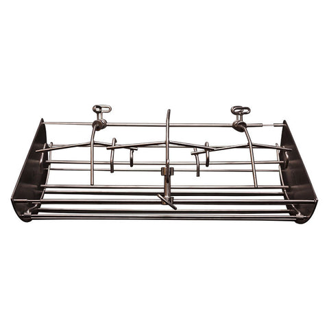 "22"" Hi-Cap Table Top  ~ 8"" Rotisserie Cradle w/ 6"" reducer"