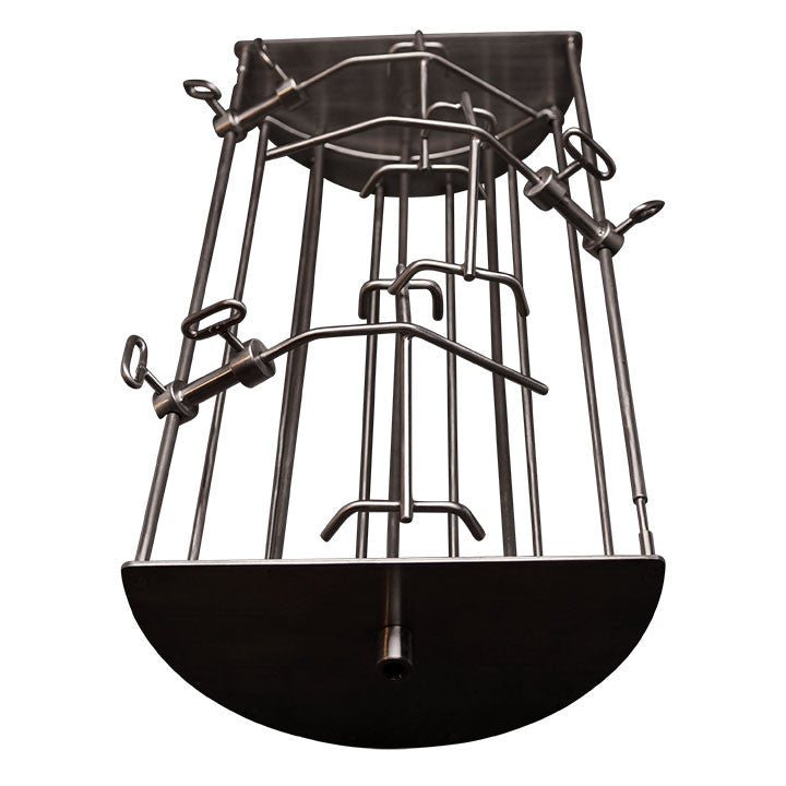 "8"" Rotisserie Cradle for 23"" Ultimate w/ 6"" reducer"