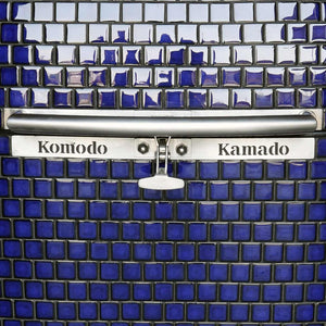 "32"" Big Bad, Cobalt Blue -On the water Jake R . - KomodoKamado"