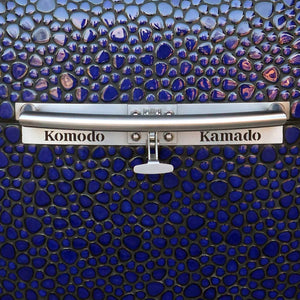 "32"" Big Bad, Cobalt Blue Pebble  A9292G - (on the water) Steven Mo... - KomodoKamado"
