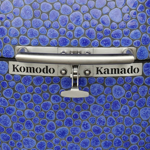 "23"" Ultimate, Vibrant Blue Pebble B8714M.  (ready in CA) - KomodoKamado"