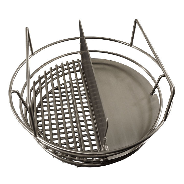 "Charcoal Basket with Basket splitter / Sear kit together. (for 23"")"