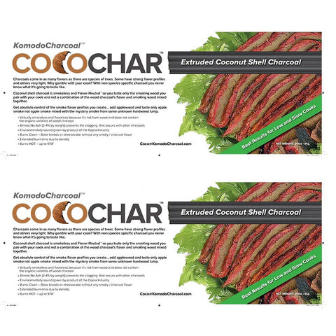 Extruded Coco Char 11 lb ~Single Box with Grill Purchase
