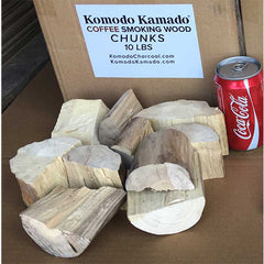 Coffee Smoking Wood ~ Big Chunks 10 lbs - KomodoKamado