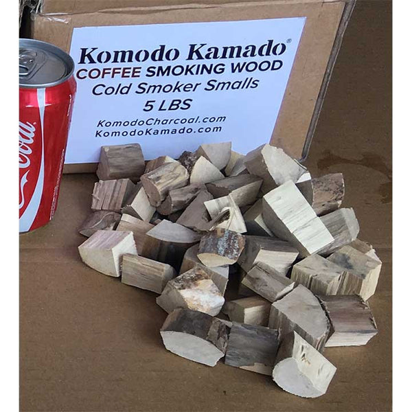 Coffee Smoking Wood ~ Cold Smoker Smalls 5 lbs - KomodoKamado