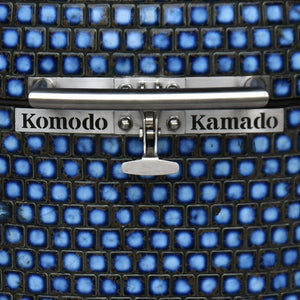 "Komodo Kamado Grill, 16"" Brawny Bambino Table Top- Terra Blue FY910Q (ready stock CA)"