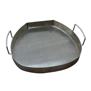 "21"" New or 22"" Supreme Hi-Cap Double Bottom Drip Pan - KomodoKamado"