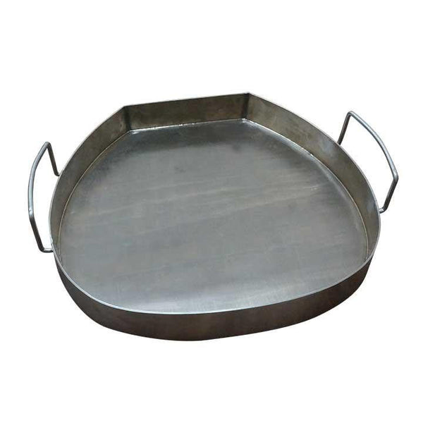 "16"" Hi-Cap Table Top Double Bottom Drip Pan - KomodoKamado"
